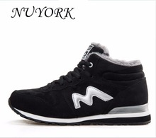 NUYORK New listing hot sales winter Plus Velvet women and men running boots sneakers lovers size 36-45 921-922#
