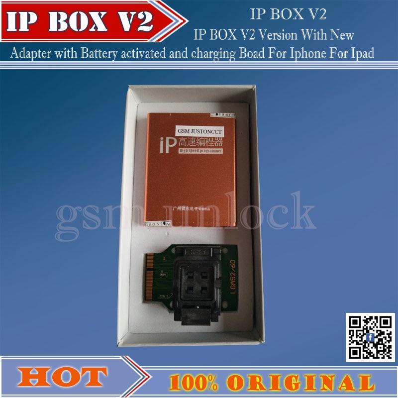 Gsmjustoncct Ip yüksek hızlı programcı kutusu IP-box2 Iphone ve - İletişim Ekipmanları - Fotoğraf 4