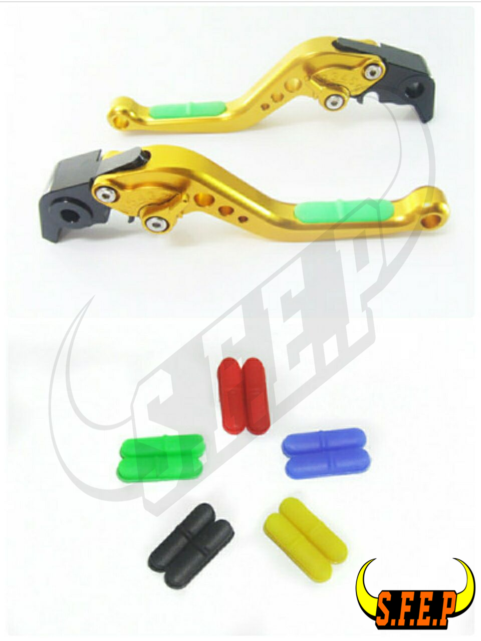 CNC Adjustable Motorcycle Brake and Clutch Levers with Anti-Slip For Triumph SCRAMBLER. 2006-2016