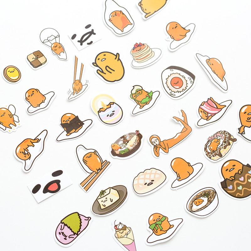 1 Pack Cute Totoro Gudetama Cat Perfume Plum Plant Decorative Stickers DIY Scrapbooking Diary Album Stick Label Party Decor