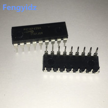 Yeni ve orijinal 5 adet PIC16F628A I/P PIC16F628 16F628A DIP 18