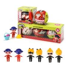 Новый мультфильм божья коровка для LoL Инкубационное яйцо фигурки героев Best прекрасный подарок игрушка изменить кукла-сюрприз мяч аниме девушка на день рожден