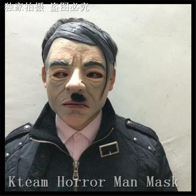 fashion election candidates germany man mask president competitor halloween human face mask funny party star imitation - President Halloween Mask
