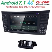 7 Car Monitor DVD GPS Navigation Stereo Radio For Mercedes Benz G E Class W211 W463