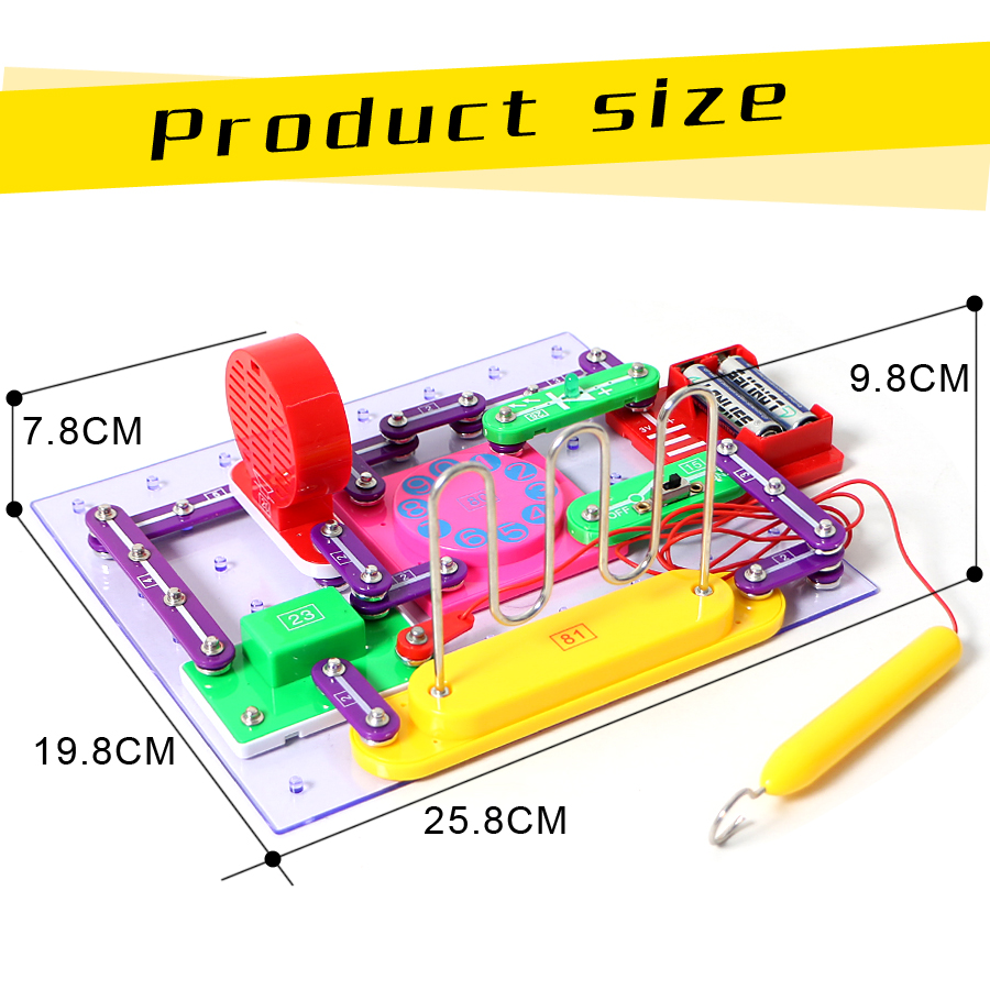 789 projects smart educational electronics discovery kit great diy building blocks funny electric circuits kits for children in blocks from toys hobbies  [ 900 x 900 Pixel ]