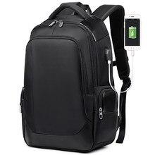 Купить с кэшбэком Brand Laptop Backpack Business Men's Travel Bags Multifunction Rucksack Waterproof Oxford Black Computer Backpacks For Teenager