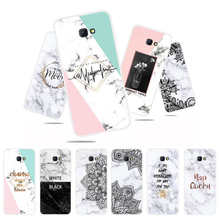 Marble Flower Phone Case For Samsung Galaxy J4 Plus Soft TPU Back Cover Prime J4Plus 2018 Silicone Cases