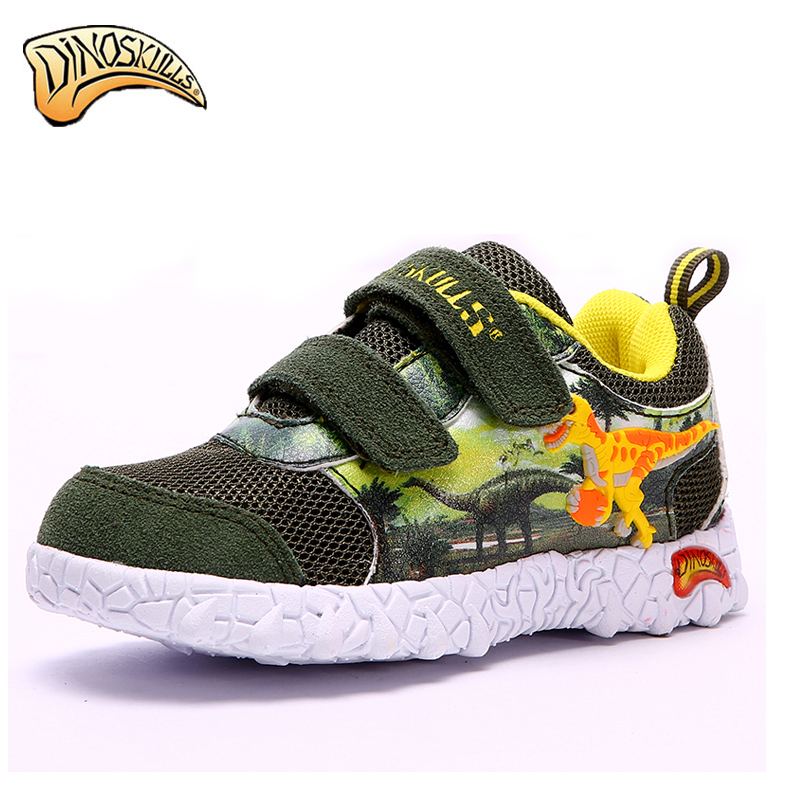 Dinoskulls 2017 new childrens shoes spring autumn childrens non-slip breathable dinosaur shoesDinoskulls 2017 new childrens shoes spring autumn childrens non-slip breathable dinosaur shoes