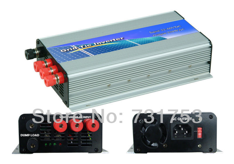 MAYLAR@ 300W Wind Grid Tie Inverter For 48V (DC Wind Turbine) ,22-60VDC,90-260VAC ,50Hz/60Hz,No Need Controller and Battery maylar 300w wind grid tie inverter for 3 phase 24 48v ac wind turbine input 22 60v output 90 260v 50hz 60hz no need controller