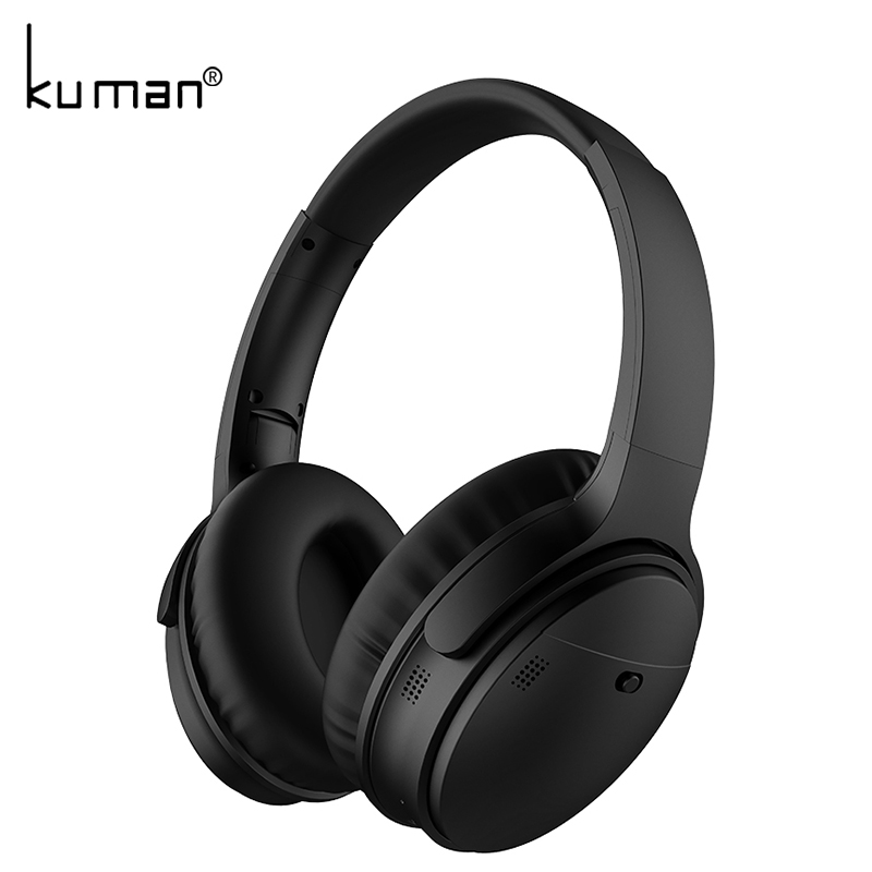 Kuman Sports Headsets Stereo Wireless Headphones HIFI Bluetooth Earphone with 3.5mm Conversion Line For Phone PC Gaming YL-HH7 gorsun e1 sports wireless bluetooth headsets stereo noise reduction earphone heavy bass folded headphones with microphone for pc