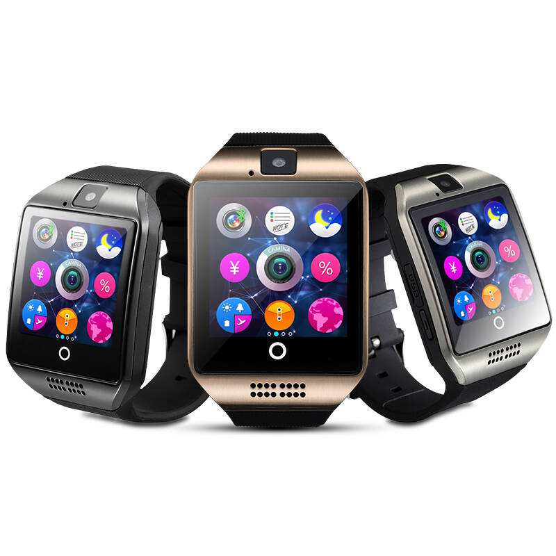 MOCRUX Q18 Passometer Smart watch with Touch Screen camera Support TF card Bluetooth smartwatch for Android IOS Phone 5