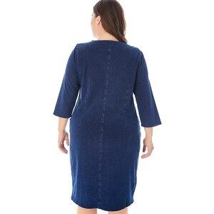Image 2 - Платье Miaoke женское джинсовое