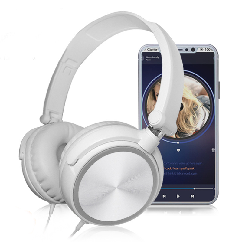 Wired Headphones Over-Ear-Headsets Bass Sound Huawei Pc Hifi Music-Stereo Sony with