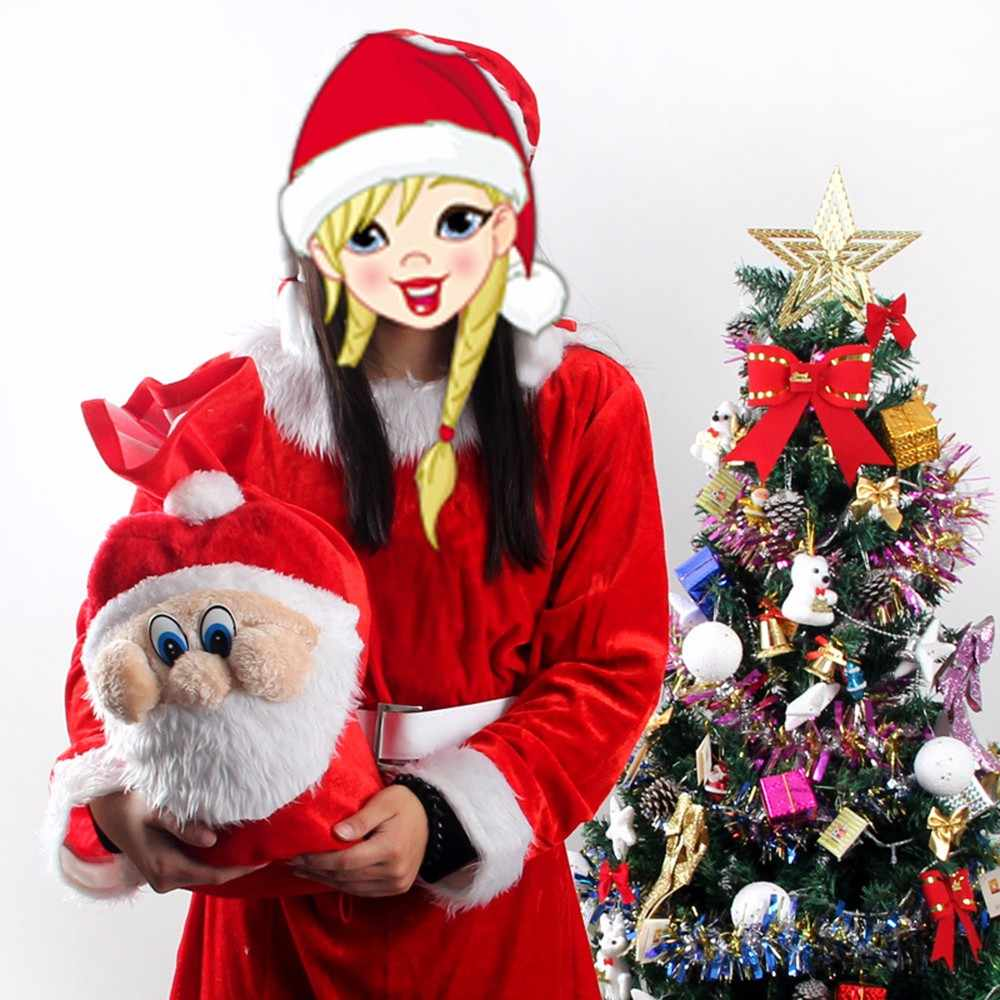 2 шт Рождественский Подарок Снеговик Конфеты Мешочки для сладостей для украшения вечерние сувениры Рождественский орнамент