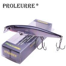 Proleurre 1 шт. блесна рыболовная приманка Лазерная жесткая искусственная приманка 3D глаза 11 см 14 г рыболовные воблеры Дайвинг 0,2 М-1 м кренкбейт блесна