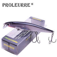 Proleurre 1PCS Minnow Fishing Lure Laser Hard Artificial Bait 3D Eyes 11cm 14g Fishing Wobblers diving 0.2m-1m Crankbait Minnows