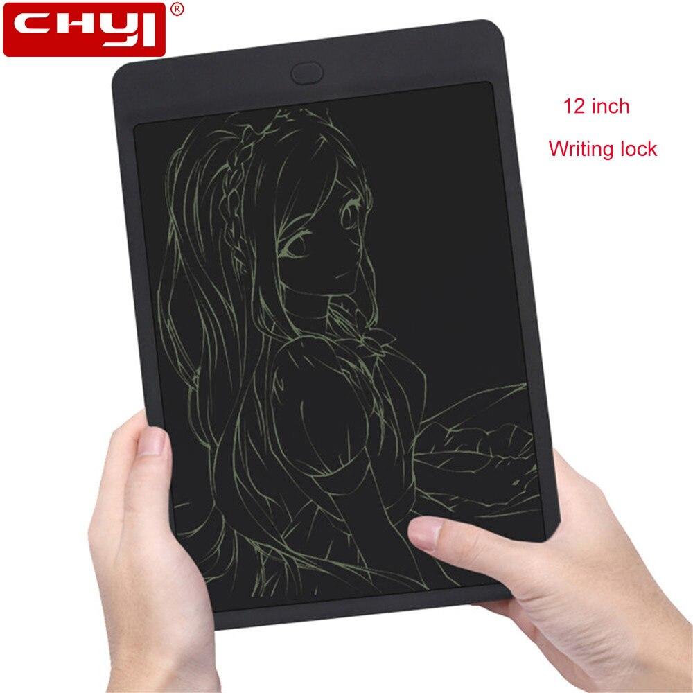 Tablettes d'écriture LCD 12 pouces tablettes d'écriture numérique pour entreprises tablette graphique électronique tablette tactile mince planche à dessin