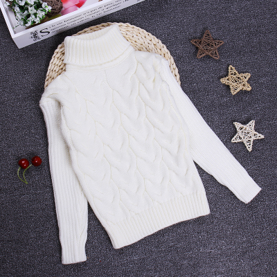 Big Size 2-10T Pullover Winter Autumn Sweater Boy Girl Child Knitted Sweater Turtleneck Sweater Children Outerwear KC-1547-7