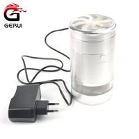 GERUI Populaire 5 Layer Elektrische Kruidengrinder Aluminium Weed Grinder Tabak Sigaret Crusher Voor Roken Accessoires 129J