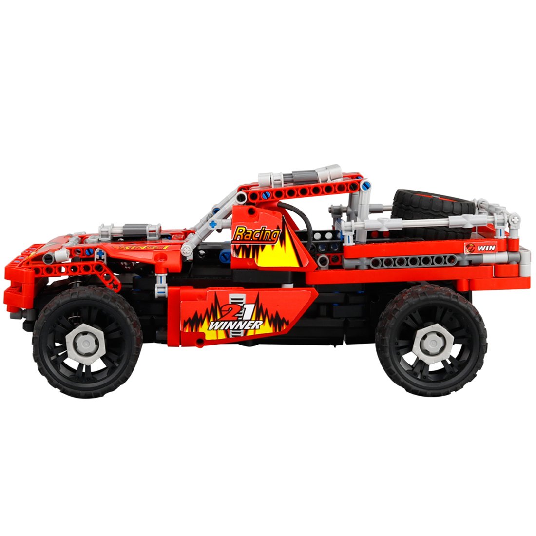 DIY Building Block kit High Speed RC Car Chassis Off-road Vehicle Deformation Warrior Type Vehicle Educational Kids Cars Toys некрасов андрей приключения капитана врунгеля