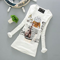 32 color de La cachemira de La Moda t shirts Ladies invierno estilo mujeres calientes camisas de Alta calidad No pilling Ropa Interior Térmica