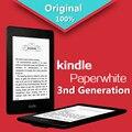 """Kindle Paperwhite 3-я генерация Черный 4 ГБ электронная книга e-ink Экран WI-FI 6 """"СВЕТ Беспроводной Считыватель С встроенной подсветка Бесплатная доставка"""
