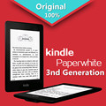 "Paperwhite kindle $ number ª generación negro 4 gb ebook e-ink pantalla wifi 6 ""lector inalámbrico con una función de luz backlight envío gratis"