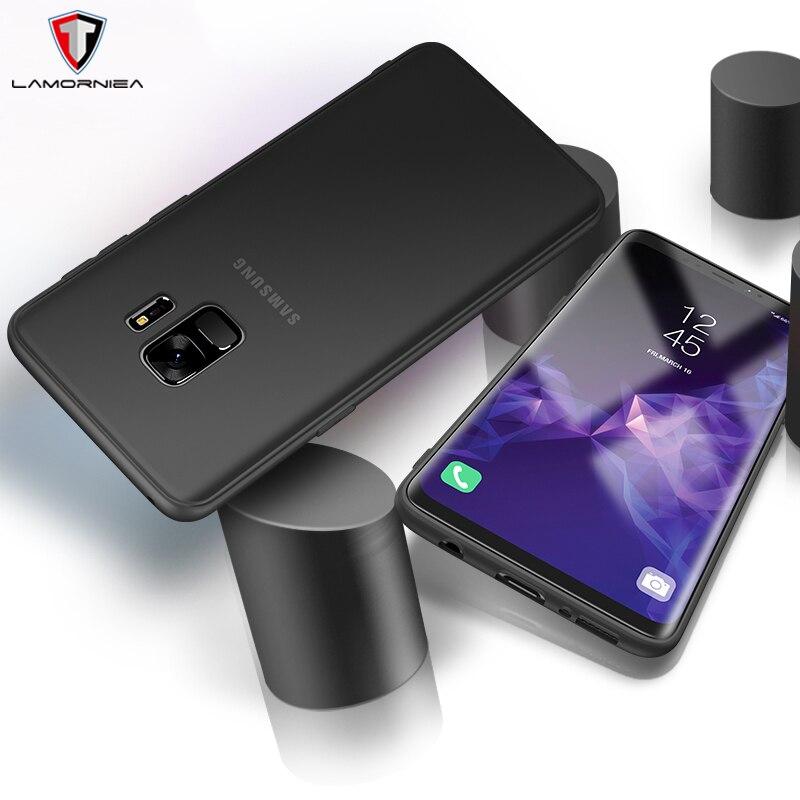 Lamorniea чехол для Samsung S9 Plus S9 мягкий тонкий ТПУ назад протектор кожи ультра тонкий чехол телефона для Samsung galaxy S9 плюс