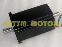 Quality Dual Shaft NEMA34 1230 Oz In CNC Stepper Motor Stepping Motor 5 0A