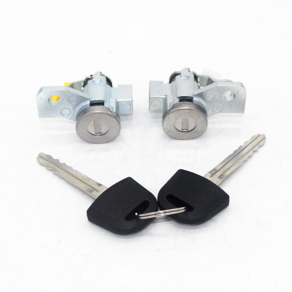 US $18 79 6% OFF|2pcs Left Right Door Lock Cylinder Key Set for HOLDEN  ISUZU 02 10 RODEO DMAX D MAX DENVER-in Locks & Hardware from Automobiles &
