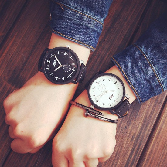 JIS Minimalist Fashion Casual Mens Watches Ultra Thin Top Brand Luxury Leather Strap Women Quartz Watch Business horloges mannen
