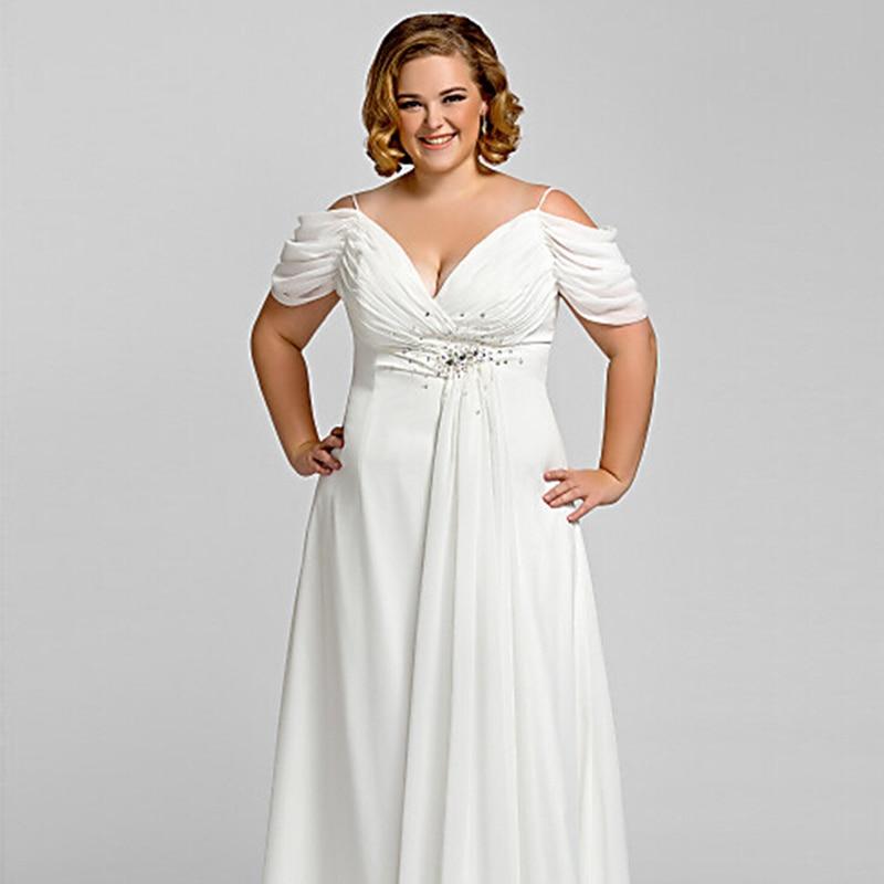 Imágenes de White Plus Size Evening Wear