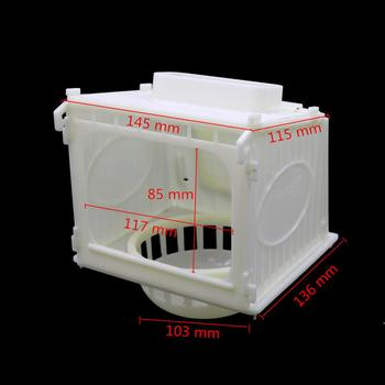1 Pcs Bird Cage Bird House Parrot Cage White High Quality Plastic Pet Bird's Nest Removable 1