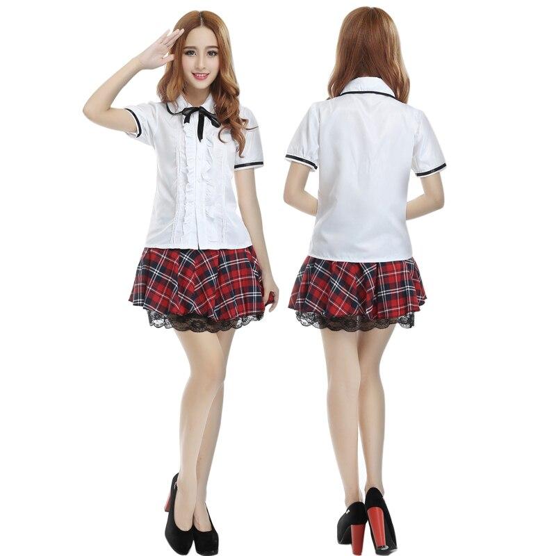 Косплэй костюм японский Корейская версия высокого школьная форма Обувь для девочек костюм Британский дух колледжа студенты одежда Униформ...