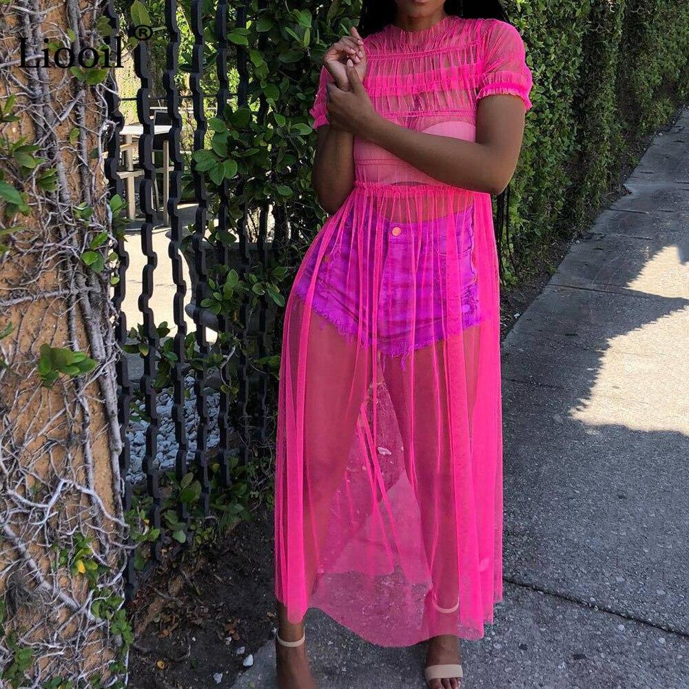 a48dc90df4 Liooil Neon Tassel Jeans Shorts Women 2019 Summer Elastic High Waist ...