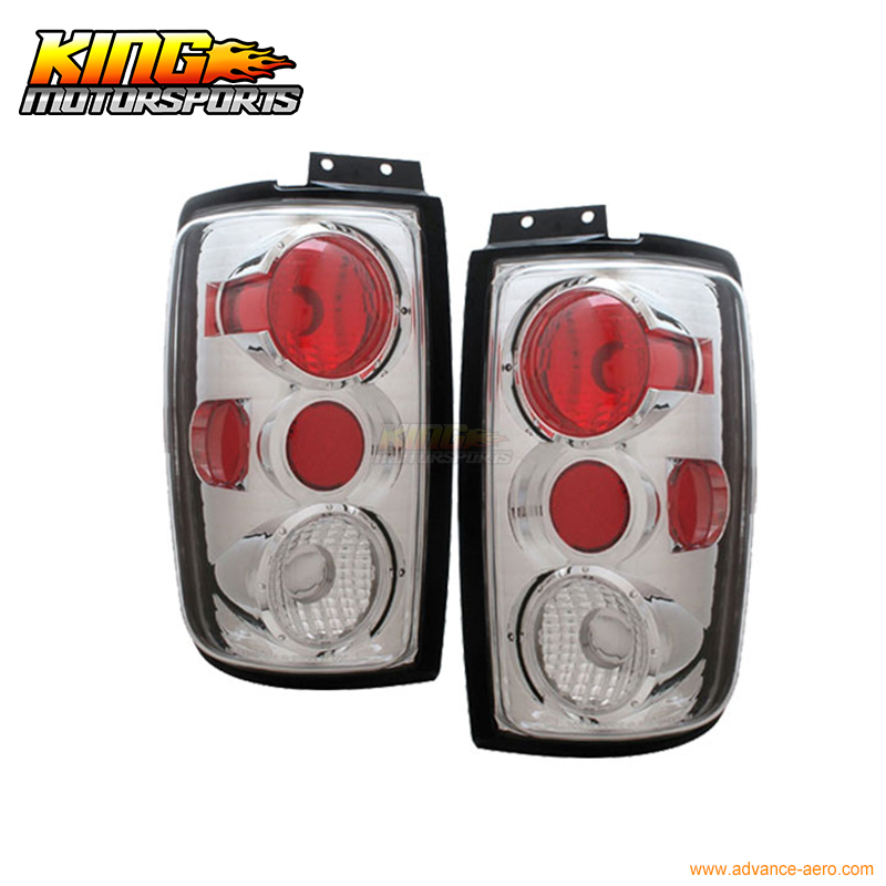 For 97-02 Ford Expedition Tail Lights G2 Chorme 98 99 00 01 USA Domestic Free Shipping for 97 98 99 nissan maxima 4 pcs tail lights red clear usa domestic free shipping