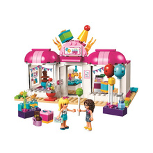 friends girls shop Building Blocks Girl Friends Kids Model Toys Figures bricks Compatible with 01038 friends legoinglys sunshine catamaran building blocks compatible legoing friends toys classic girls kids figures toys
