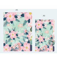 A5 A6 A7 Notebook Planner Accessories Flower Colorful Dividers Inner Page 5pcs Per Set Filler Papers Match For Filofax Agenda