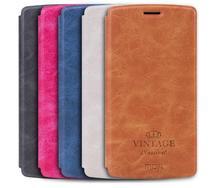 """Mofi D'origine Pour LG G4 5.5 """"de luxe PU Flip Couverture En Cuir Case H818/G819 avec fente pour carte et Stand Fonction livre style case"""