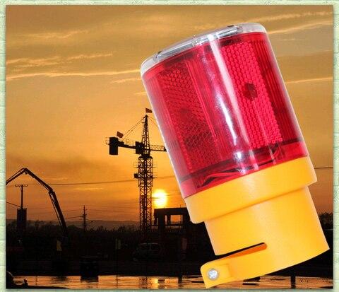 signal beacon luz de advertencia do trafego led solar lampadas industrial estrada iluminacao solar do