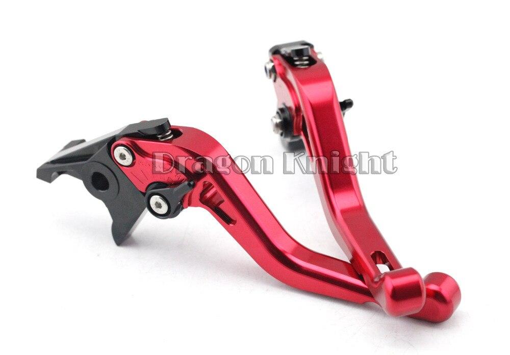 Motocycle Accessories For HONDA CBR900 CBR600F2/F3/F4/F4I Short Brake Clutch Levers Red