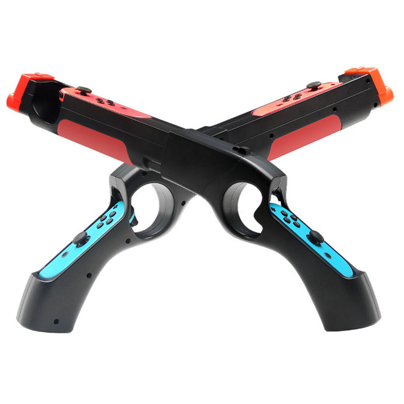 Game Gun Controller Handle Grips Compatible For Nintendo Switch NS Joy-con Games