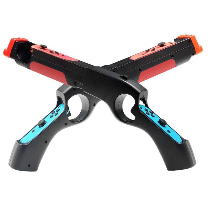 Game Gun Controller Handle Grips Compatible For Nintendo Switch NS Joy-con Games