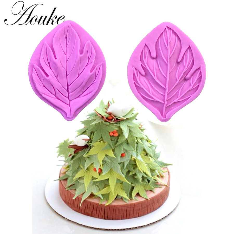 Aliexpress.com : Buy Maple Leaves Shape,3D Silicone ...
