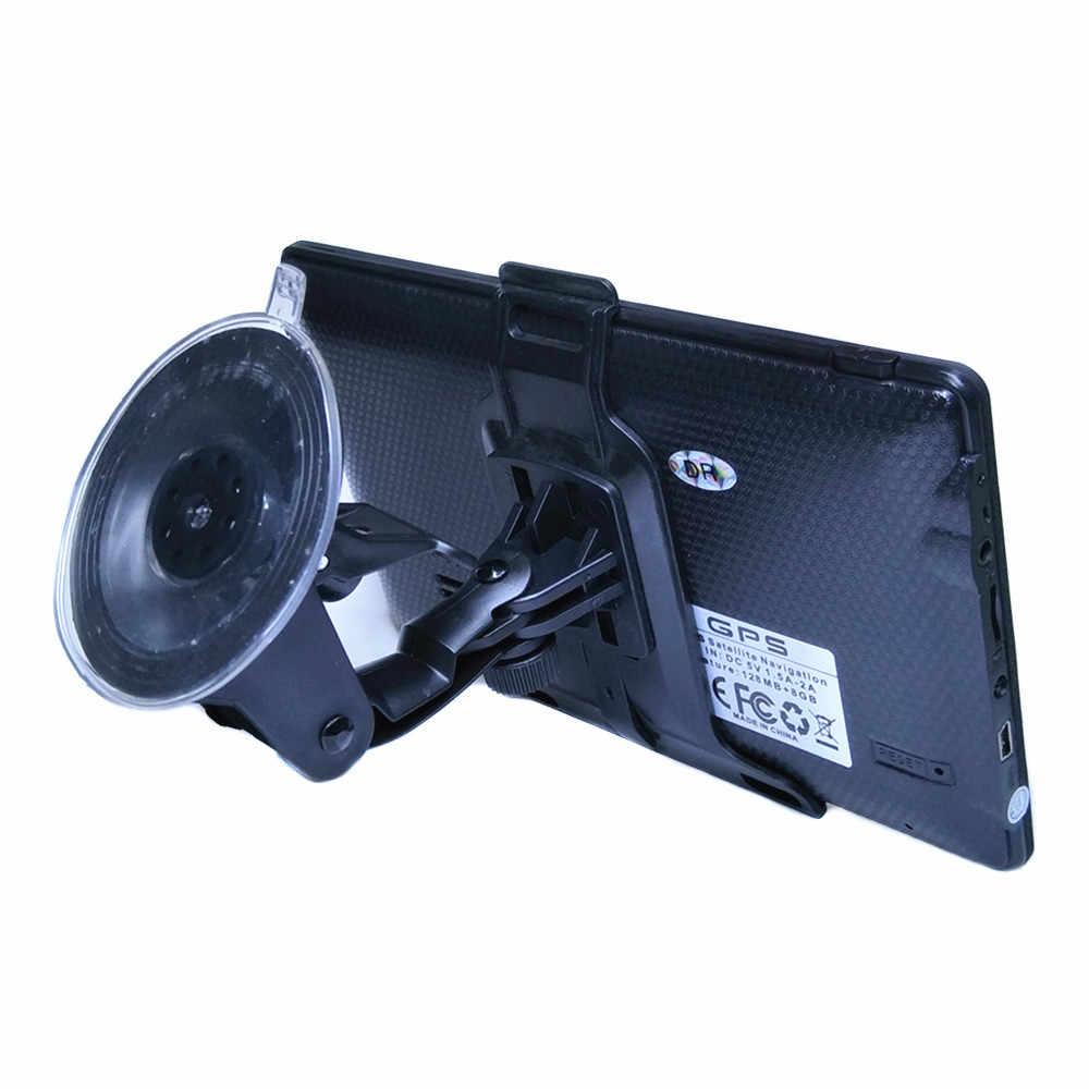 新 7 インチの容量性スクリーン車の Gps ナビゲーション土 NAV CPU800M 8 グラム + 無料の新マップ、ワイヤレスバックミラーカメラオプション