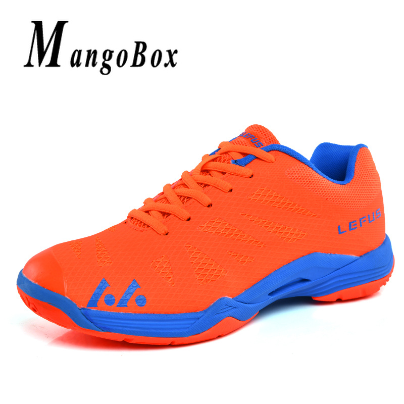 Printemps 2019 grands garçons chaussures de cour intérieure 36-41 enfants Badminton chaussures de Sport filles marque chaussures de Sport noir Orange enfants baskets