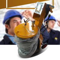 De Cristal Líquido inteligente Máquina de Pulverização de Pulverização Eletrostática A Pó Máquina de Pulverização Eletrostática Gerador opt 2|Conjs. ferramentas de pintura|   -