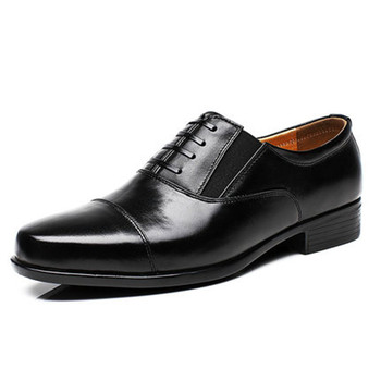 Большой размер 10.5 Мужская Платье Кожаные Ботинки Деловых и офисных & карьера обувь для мужчин зашнуровать Оксфорды Случайные мужские квартиры