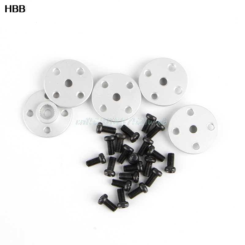 5x25 T Servo Arm Metal Horns Voor MG995 MG996 RC Servo Robot Arm Ronde # T026 #