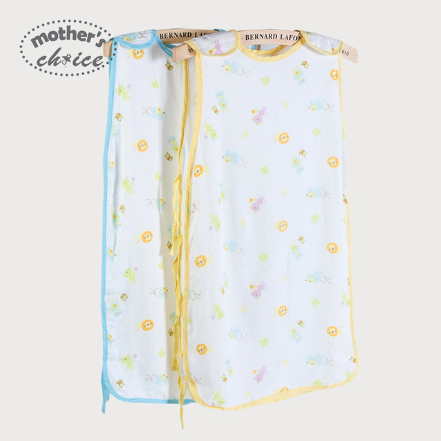 Mothers choice 100% cotton summer Baby sleeping bag newborn baby bunting